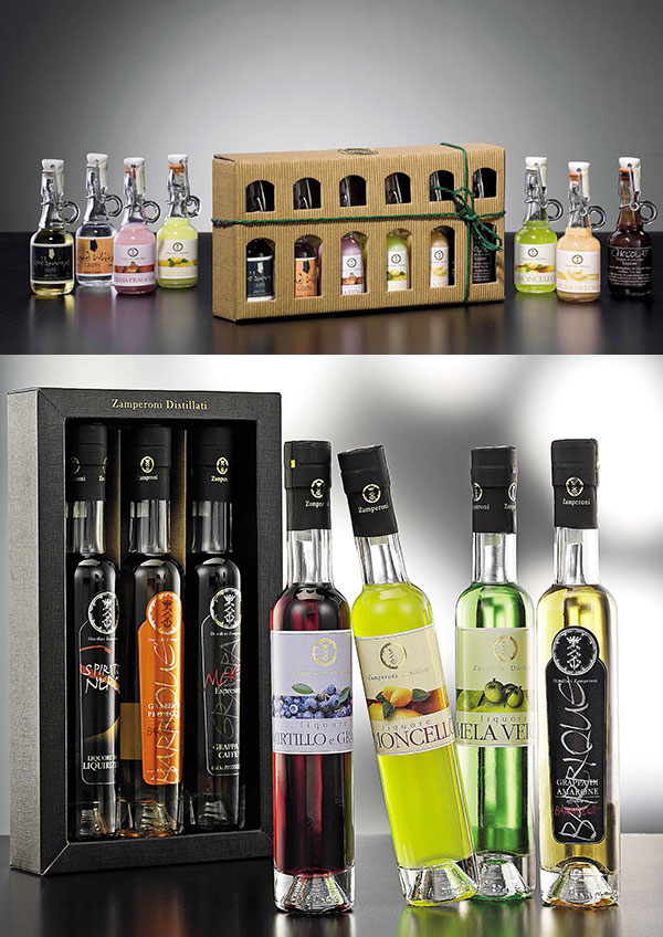 Creme and liquor various taste