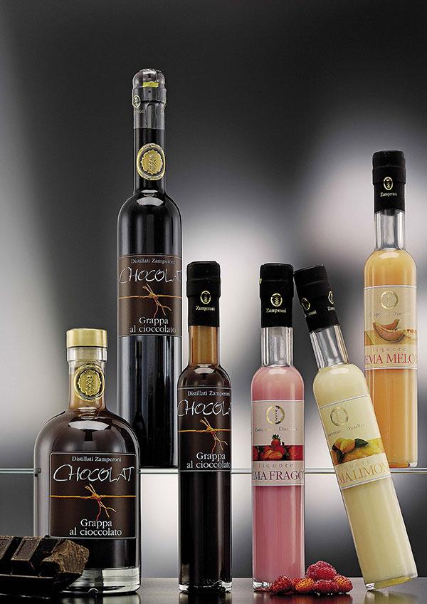 Liquor e creme various taste