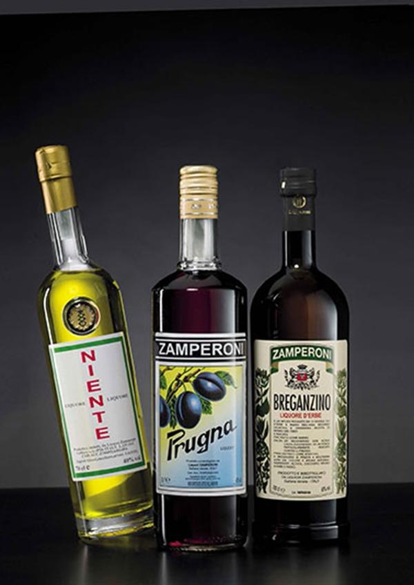 Niente, Prugna e Amaro alle erbe Breganzino